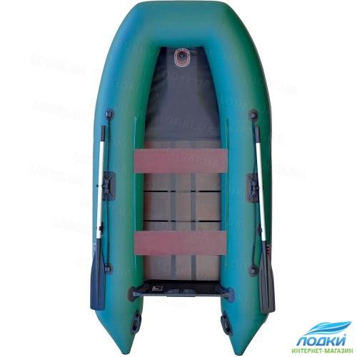 Надувная моторная лодка Parsun 0015K new с псевдокилем закрытая передняя часть